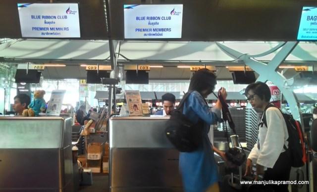 BLUE RIBBON CLUB OF BANGKOK AIRWAYS