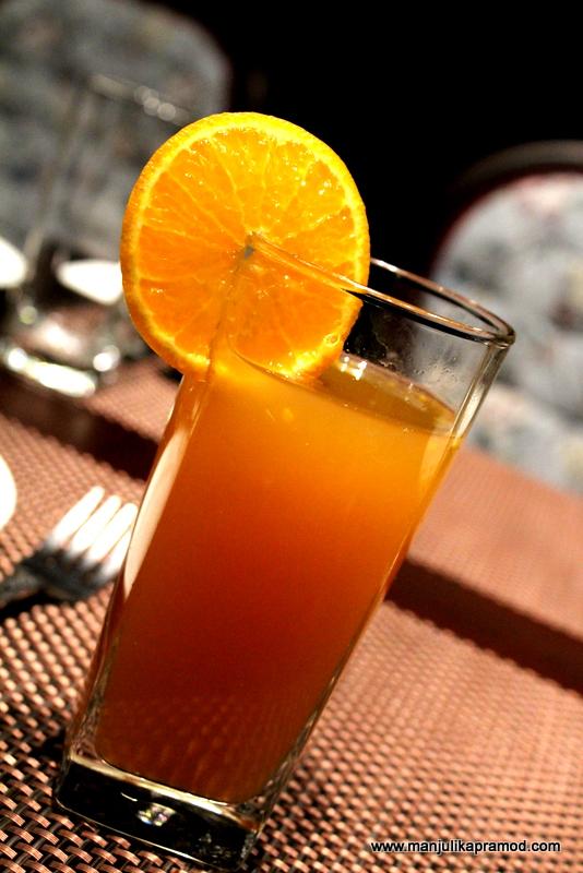 Breezy Badamtam - Tea Mocktail