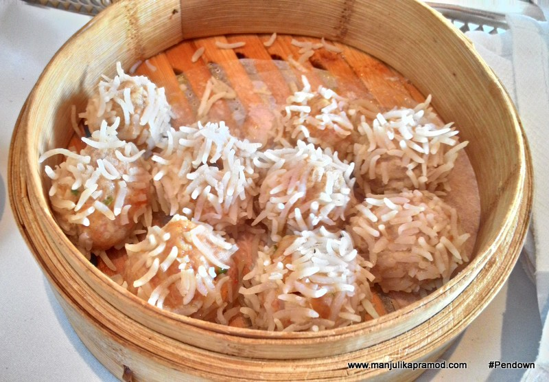 Dumplings made from rice