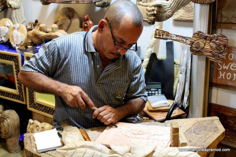 Craft Making - Mauritius