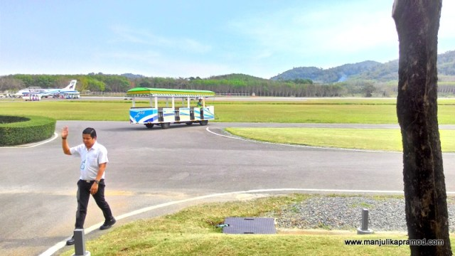 PICTURE OF TRAT AIRPORT
