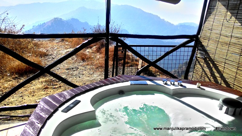 Jacuzzi and Spa in the mountains