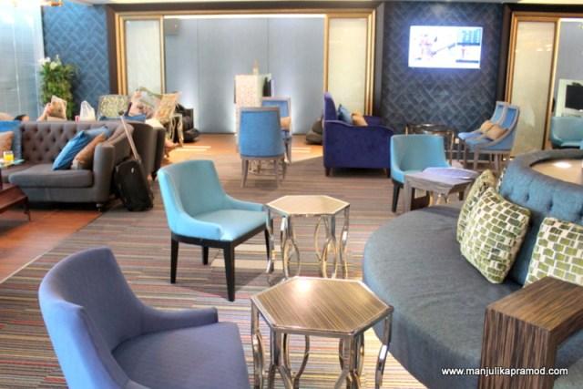 The Lounge setting