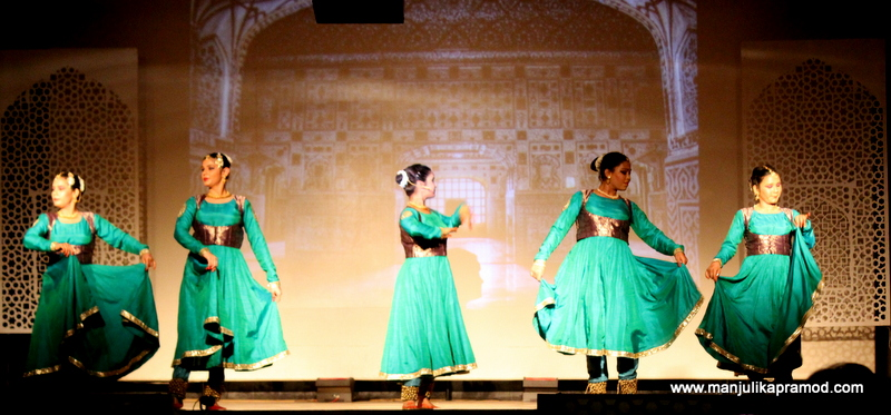 Delhi's story was told through dance