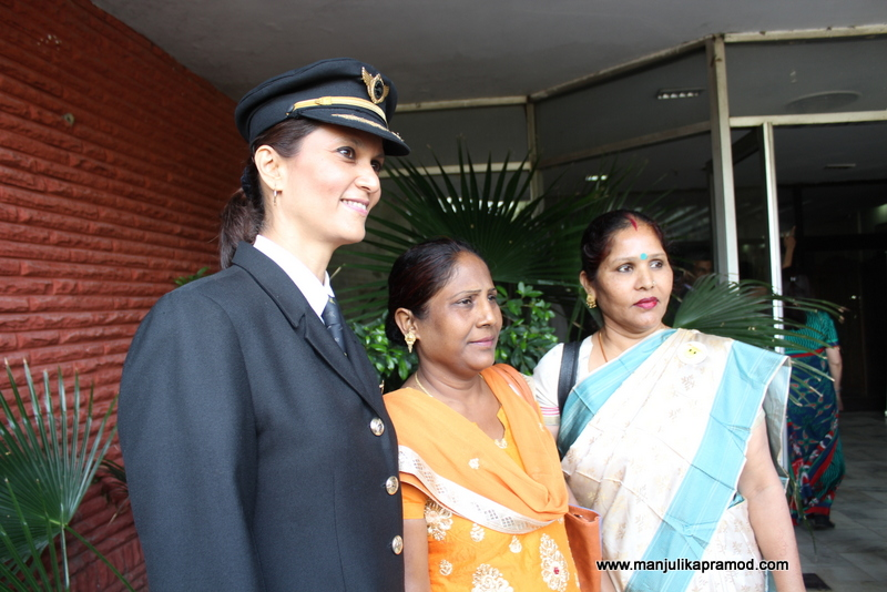 Trisha Mohan - The lady officer who flies the Jumbo jet flights