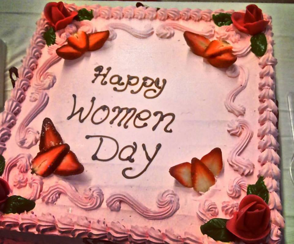 International Womens Day, 8th March Cake