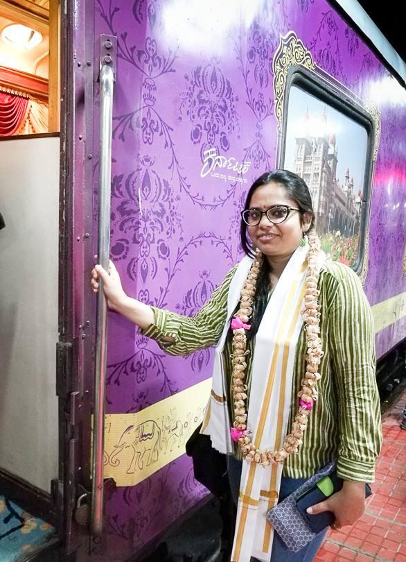 Luxury train of India
