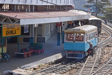 Kalka-Shimla Railway, a UNESCO World Heritage site