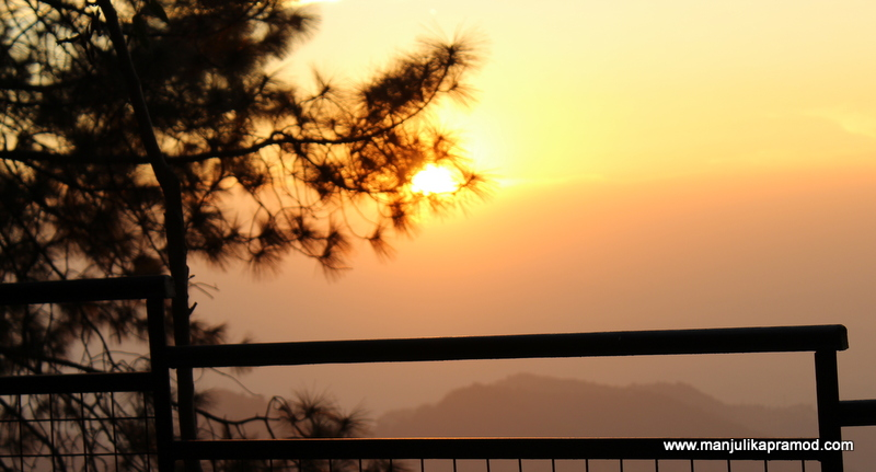 Sunset, Shoghi, Shimla, Travel
