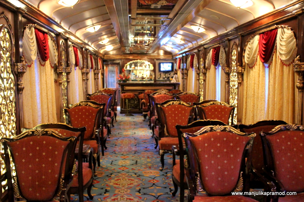 The conference area or the Madira bar was my favorite section of the train