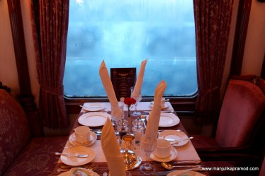 Golden Chariot Train Review