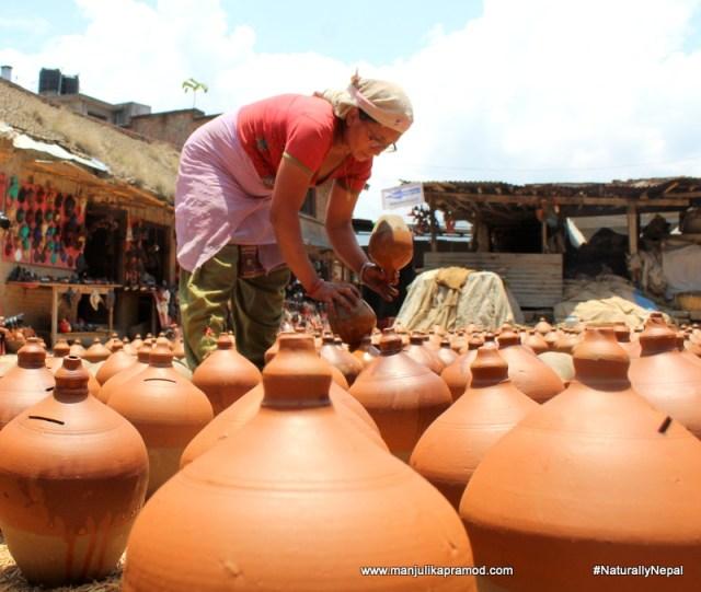 Pottery vIllage in Bhaktapur