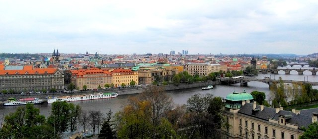 Prague and its colors