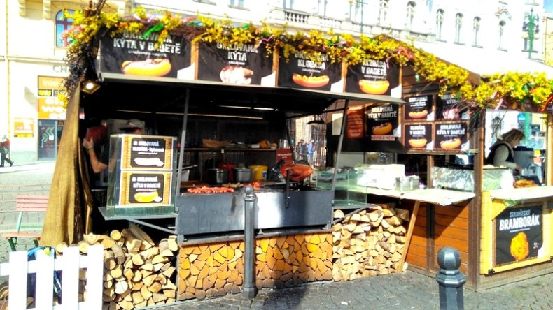 Food shops in prague
