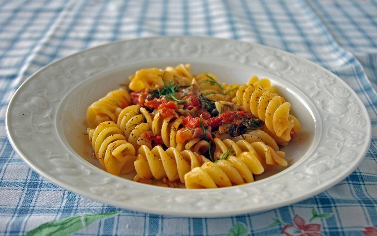 Comfortable food, Pasta