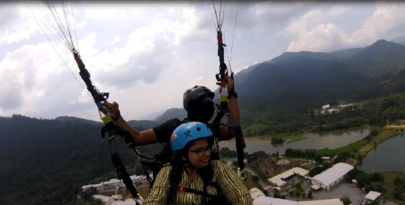 Kuala Kubu Baru, Paragliding site