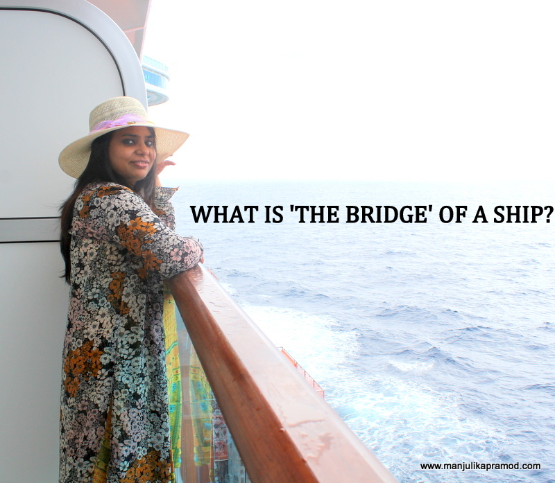 Princess Cruises, Bridge of a ship