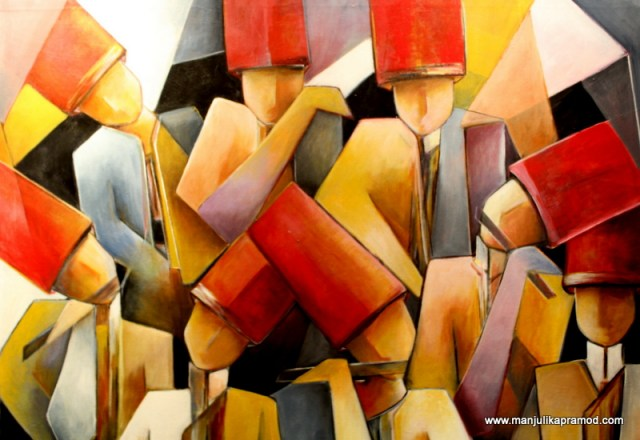 Art exhibition, Bahraini artists