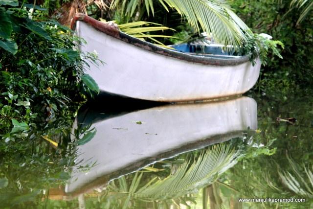 The canoe ride