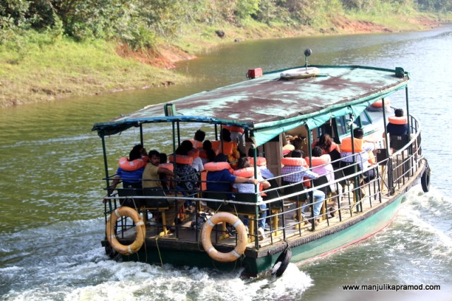 Periyar Lake, Thekkady, Boat cruising, Travel