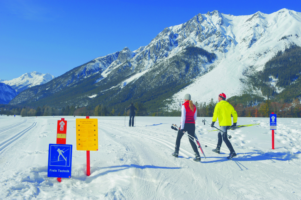 Cross-Country Skiing, Tirol,
