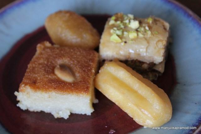 Dessert platter, Amuse House
