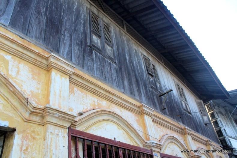 European houses of Chanthaburi
