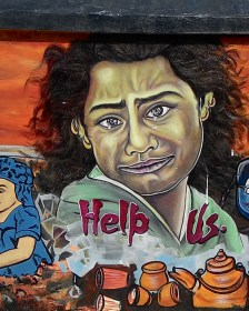 Help us, Travel, Street Art