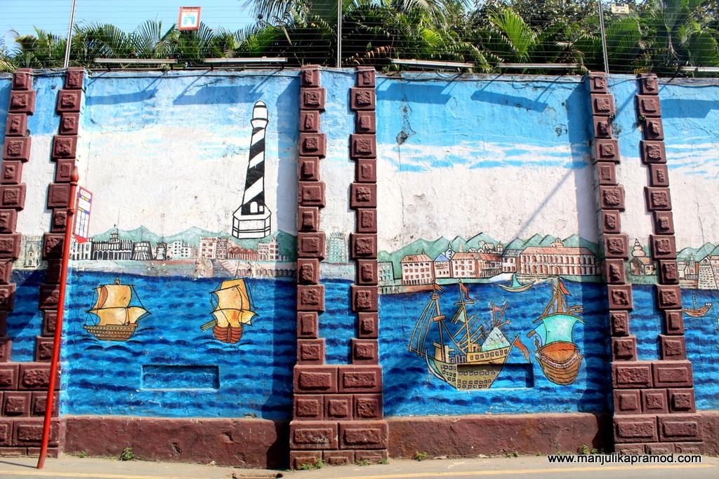 Marine art at Lions Gate