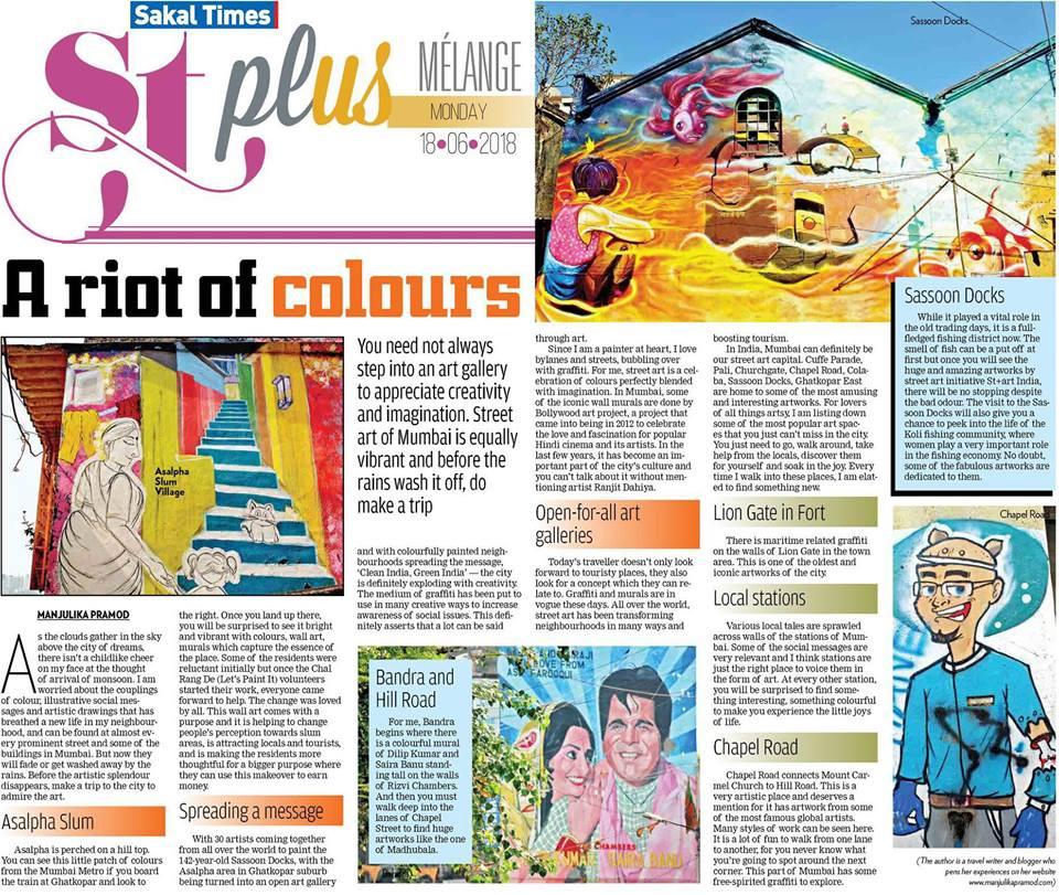 Art walks in Mumbai