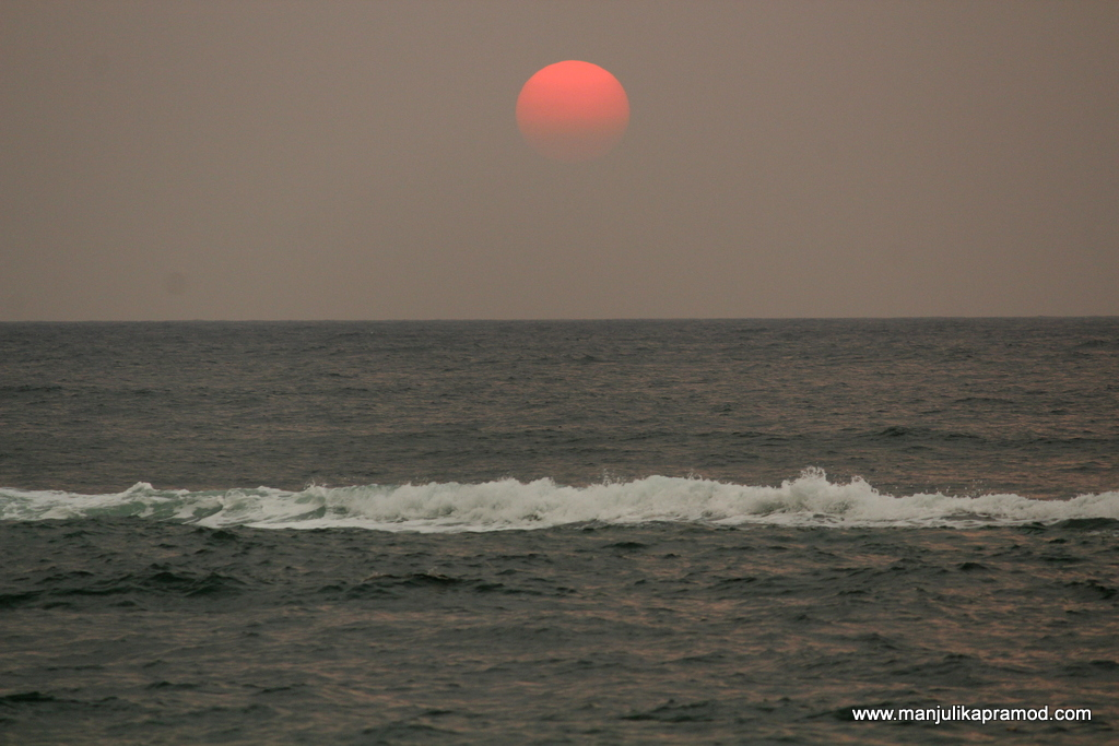 Sunset time in Colombo