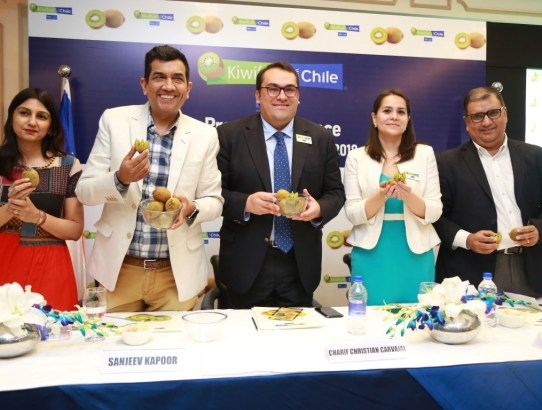The Journey of Kiwifruits from Chile to Indian Homes