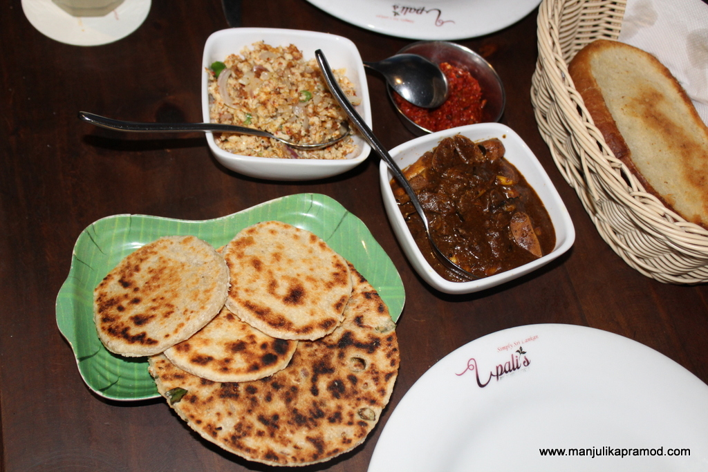 Do eat local food in Colombo