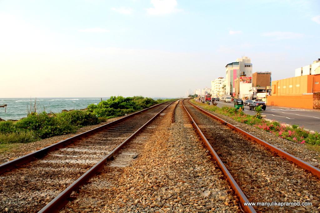 Train Journey Colombo, Sri Lanka