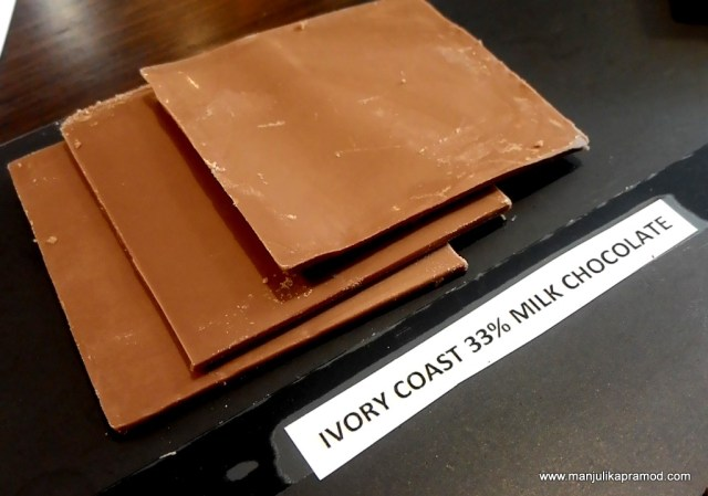 Workshop on chocolates