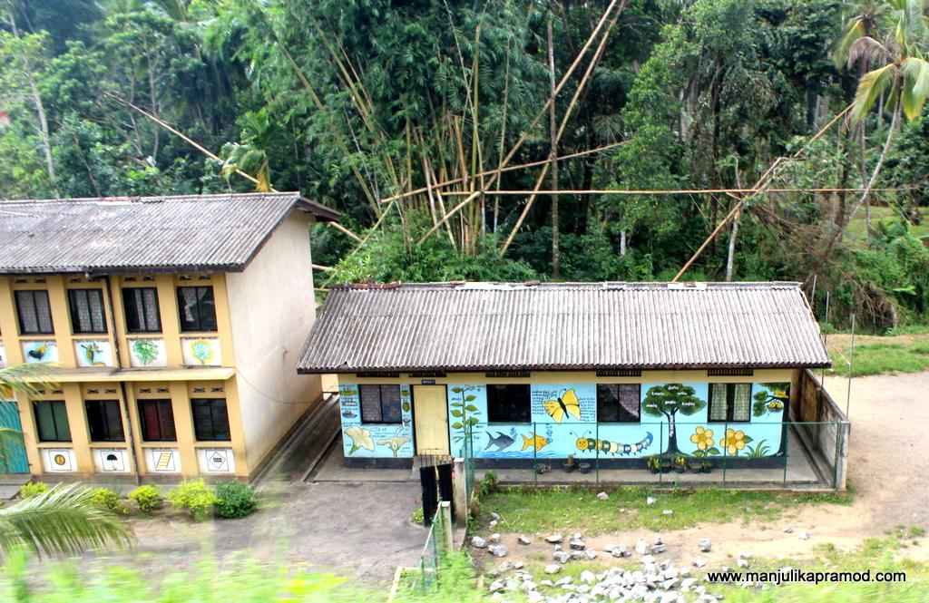 Vibrant houses of Sri Lanka