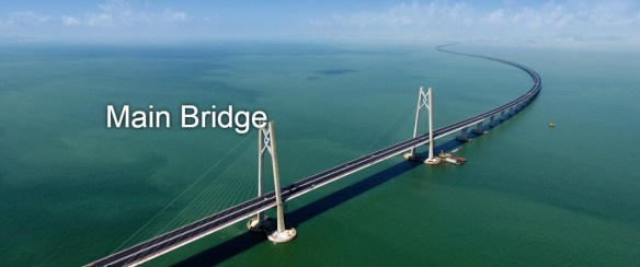 Hong Kong-Zhuhai-Macao Bridge is a record-breaking Architectural Icon