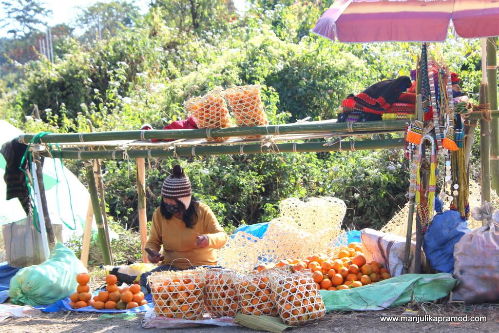 Attending Oranged Festival in Dambuk in Arunachal Pradesh