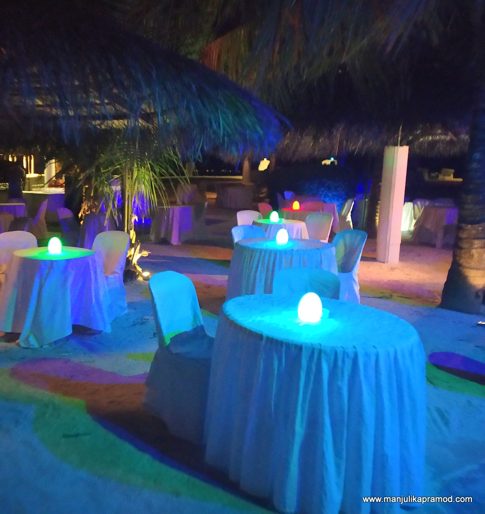 Review of the New Year Party at Adaaran Select Hudhuranfushi in Maldives