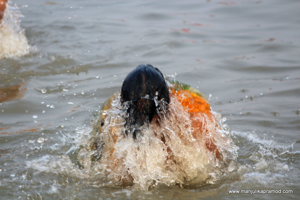 My holy dip at Ardh Kumbh in Prayagraj
