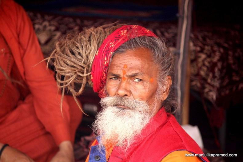 Sadhu baba from Kumbh