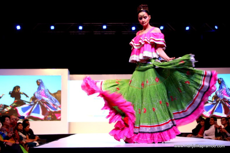 Batik and Khadi fashion show