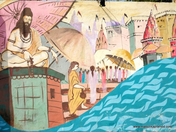 Varanasi and its street art