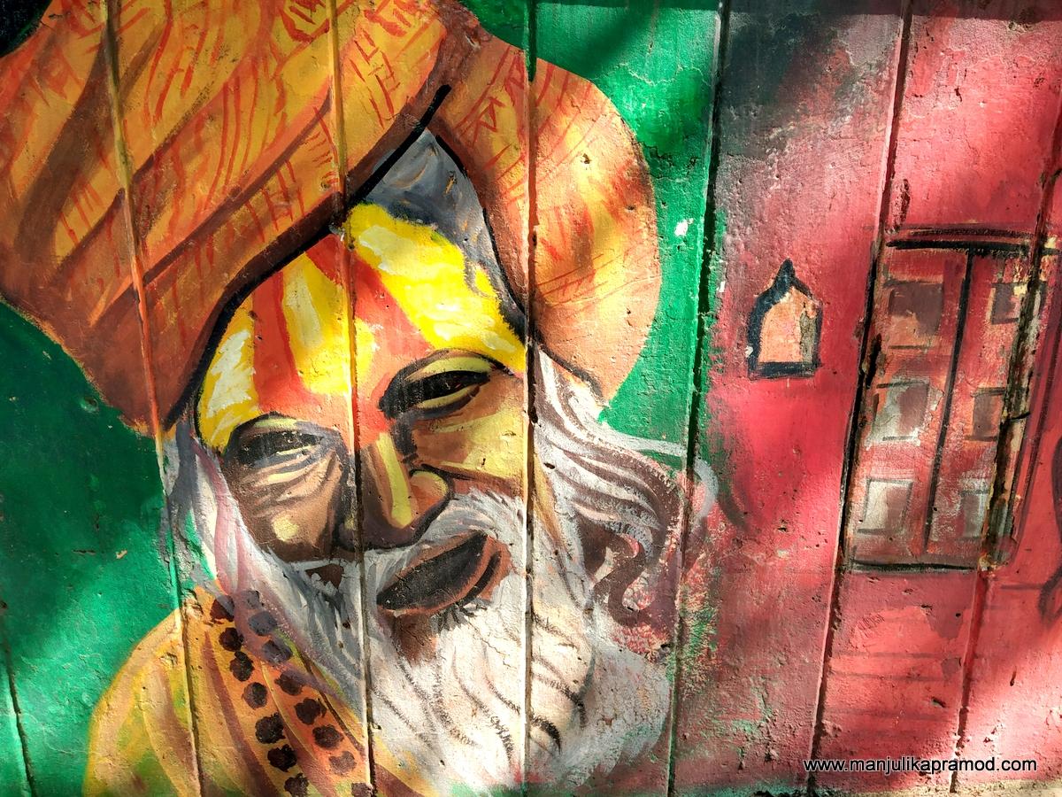 Varanasi has undergone a makeover with street art.