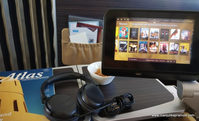 In flight entertainment is a must for me.