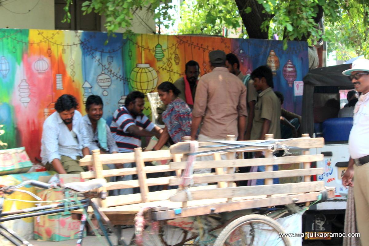 Street art in Vijayawada