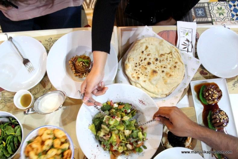 Bahraini celebrate their local food.