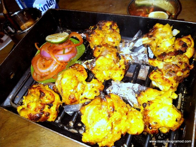 Picture of Tandoori Chicken Lolipop at Iron Hill Brewery