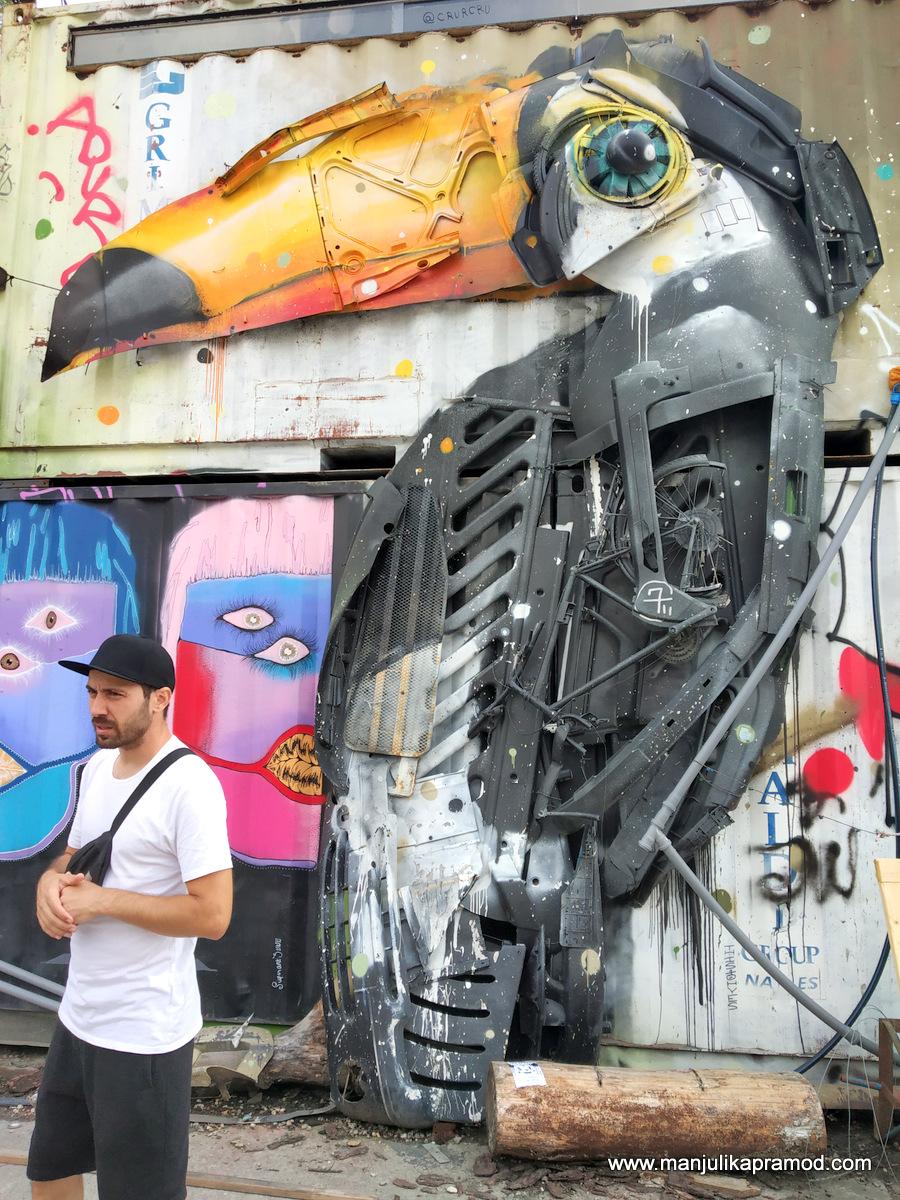 Street art trail