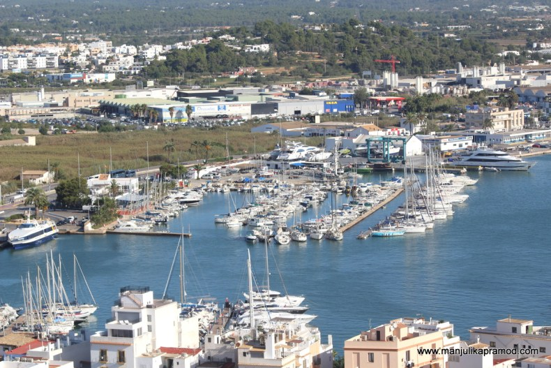 The Port of Ibiza
